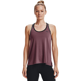 Under Armour Knockout Tank Women, fioletowy